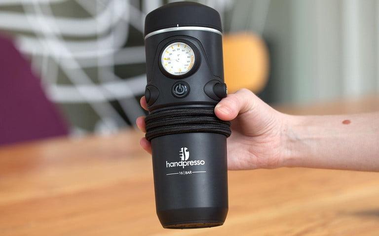 Handpresso je opravdu kompaktní zařízení