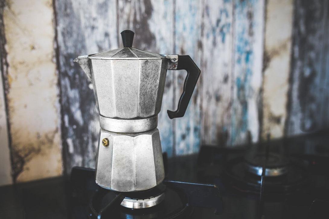 Moka Espresso je stylová konvička