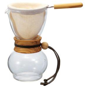 Dripper (Drip Pot) Hario Woodneck (DPW-3-OV)