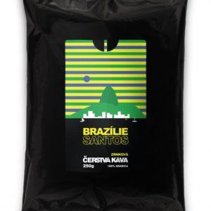Káva Brazílie Santos, zrnková
