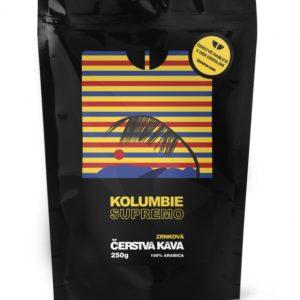 Káva Kolumbie Supremo, mletá