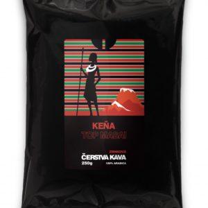 Káva Keňa Top Masai, zrnková