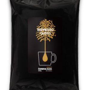Káva Espresso Gusto, zrnková