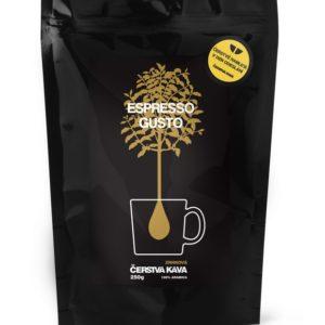 Káva Espresso Gusto, mletá
