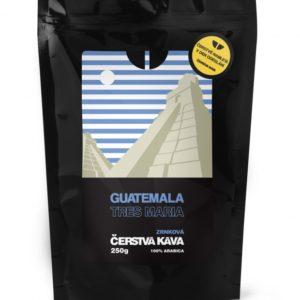 Káva Guatemala Tres Maria, mletá
