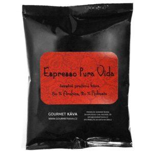 Espresso směs Pura Vida, zrnková káva