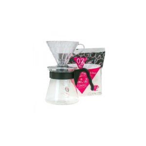 Hario V60 Pour over Kit (černá)