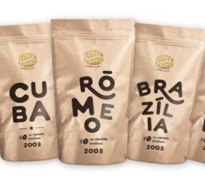 Káva Zlaté Zrnko - Spoznaj najpredávanejšie 1000g (Emília, Cuba, Rómeo, Brazília, Otello)