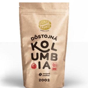"Káva Zlaté Zrnko - Kolumbia ""DÔSTOJNÁ"""