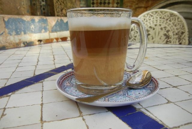 Libanonská bílá káva